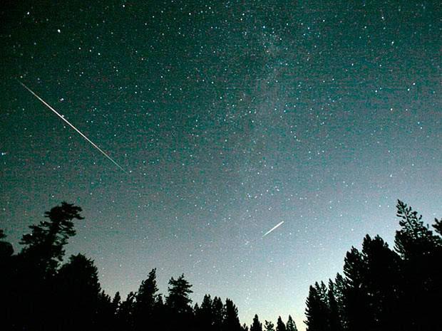Chuva de meteoros (Foto: Divulgação/Nasa)