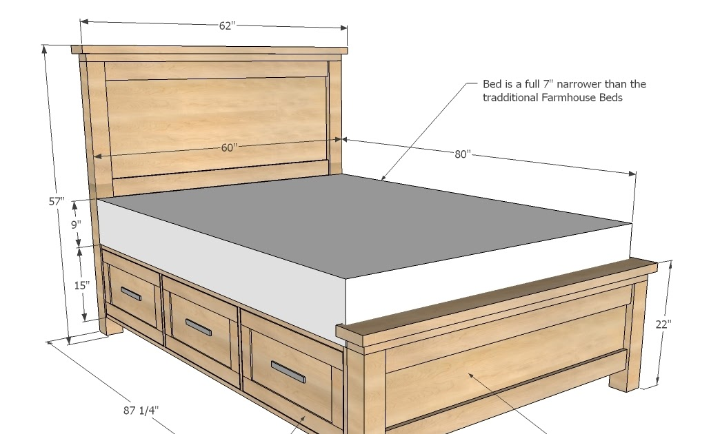 Carv: More Diy Captains Bed Plans Free