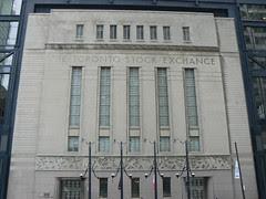 Old Toronto Stock Exchange Building