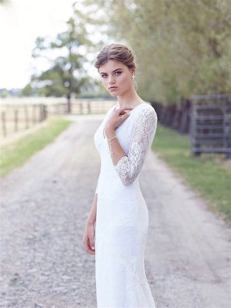 Lace wedding dresses   vintage bridal gowns   Leah S Designs