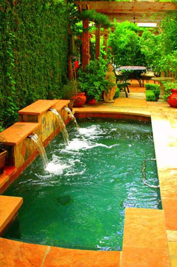 amazing  28 fabulous small backyard designs with swimming pool