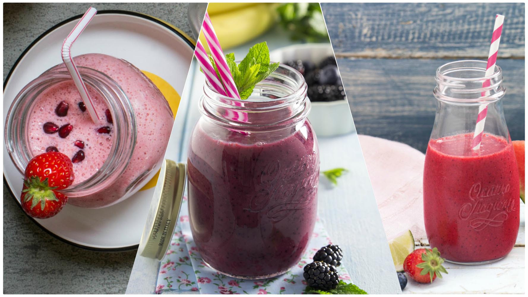 3 Smoothies To Purify Ourselves Before Summer Time