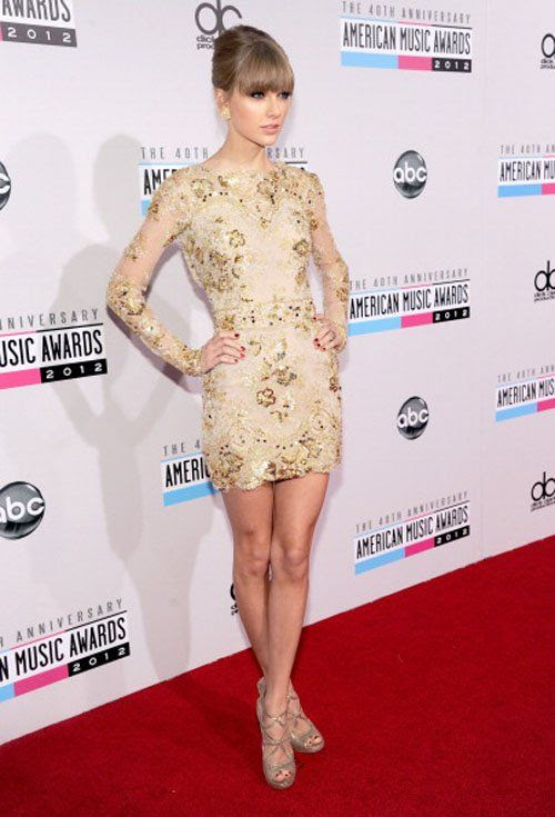 40th American Music Awards - November 18, 2012, Taylor Swift