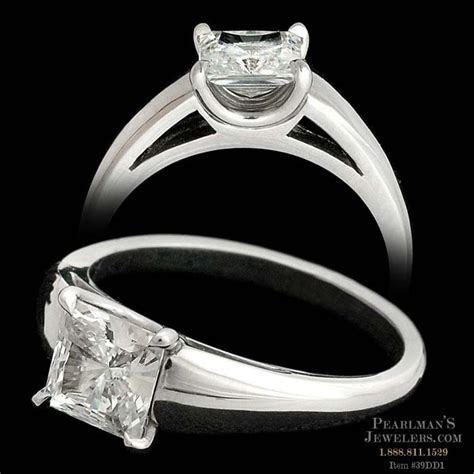 Michael Bondanza's platinum Madison engagement ring with p..