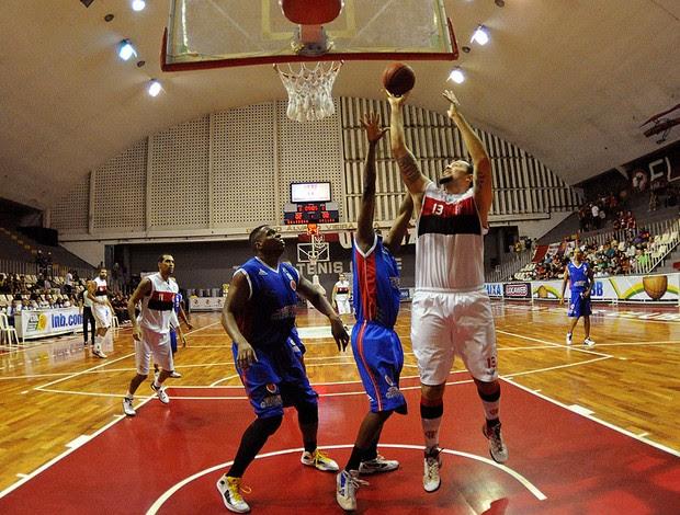 jogo basquete Flamengo x Suzano (Foto: Alexandre Vidal / Fla Imagem)