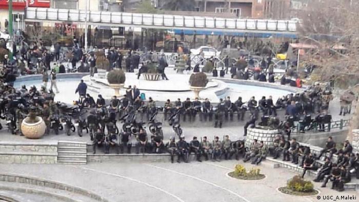 Proteste im Iran (UGC_A.Maleki)