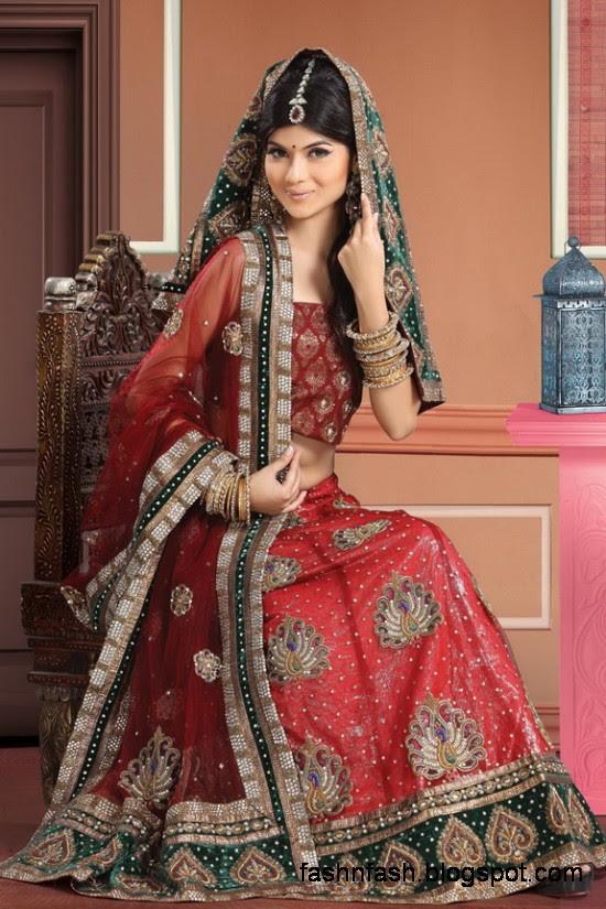 Indian-Pakistani-Beautiful-Bridal-wedding-Dress-Collection-2012-2013-Bridal-Saree-Lehanga-2