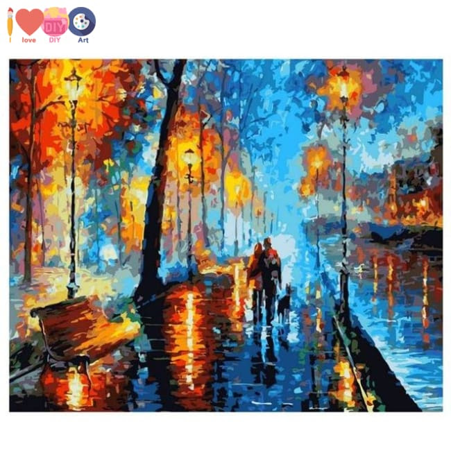The Starry Night By Vincent Van Gogh Paint By Numbers Kit I Love Diy Art
