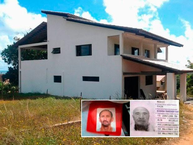 Delegacia do Turista vai investigar morte de europeus no RN (Foto: Reprodução/Inter TV Cabugi)
