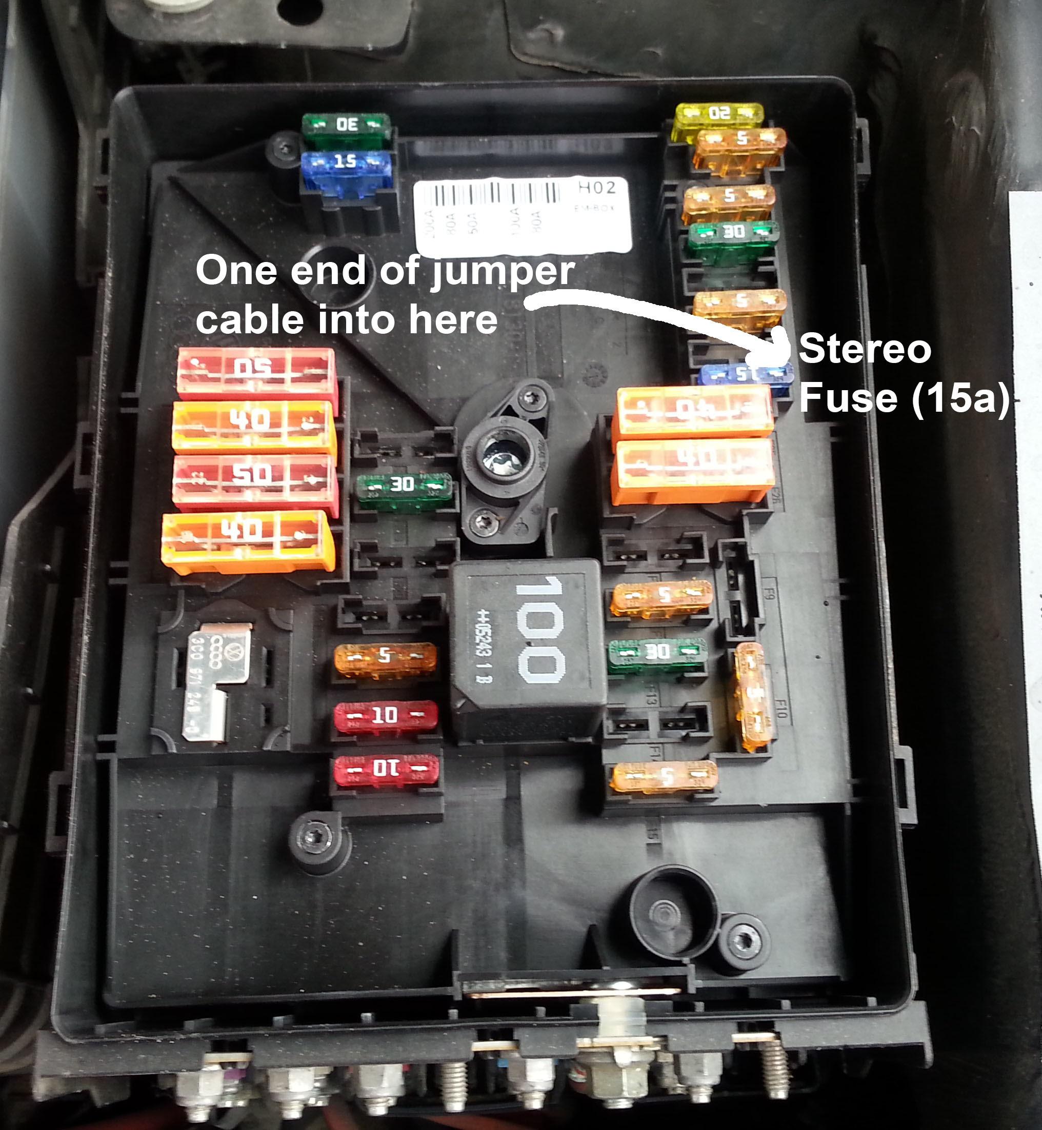 Vw Golf Mk5 19 Tdi Fuse Box Diagram