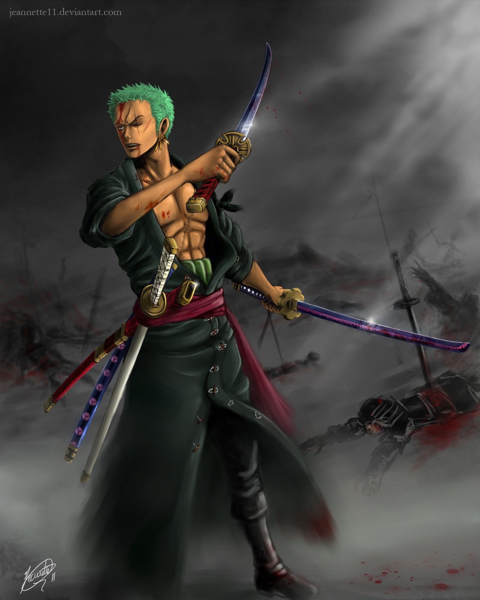 Download 6500 Wallpaper 3d Roronoa Zoro Terbaik Wallpaper Keren