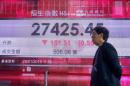 World stocks mixed amid fears for trade talks, Brexit hopes