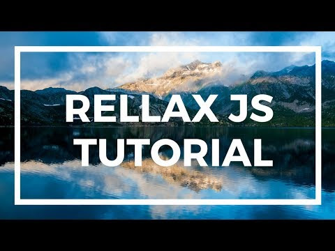Rellax JS Tutorial | How to use Rellax.JS | Parallax Background