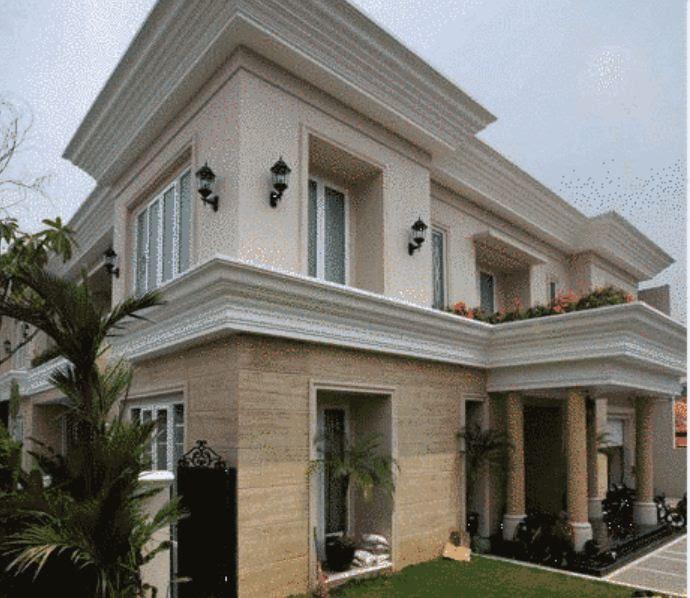 5 Perbandingan rumah mewah seleb Indonesia & Hollywood ...