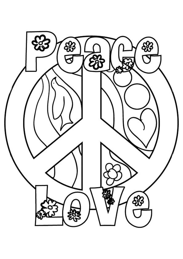 Peace Signs Drawing At Getdrawingscom Free For Personal Use Peace
