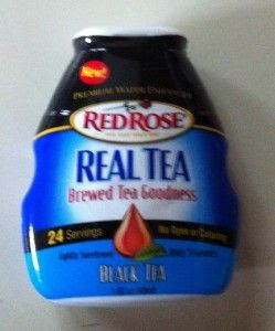 Red Rose Real Tea Premium Water Enhancer I received from @Influenster complimentary for testing purposes in the black tea and its easy to use and tastes great! #realtea  http://aguidetowhatsinsideyourbeautybag.blogspot.com/