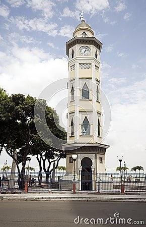 guayaquil turistico torre del reloj. Black Bedroom Furniture Sets. Home Design Ideas