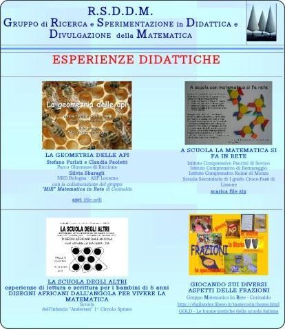 http://www.dm.unibo.it/rsddm/it/esper/esperienze.htm
