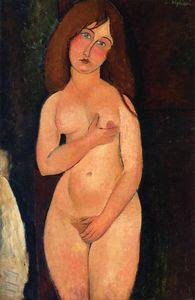 Venus (also known as Standing Nude) - (Amedeo Modigliani)