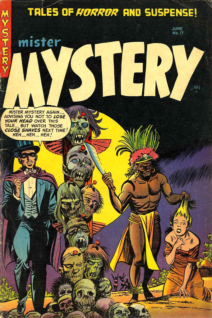 Mister Mystery #17 (Aragon Magazines, Inc., 1954)
