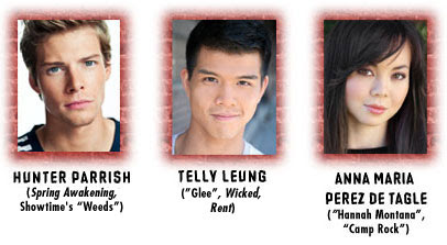 Featuring Hunter Parrish, Telly Leung, and Anna Maria Perez de Tagle
