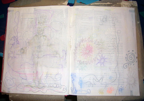 Soul Journal Pages in Progress - 4