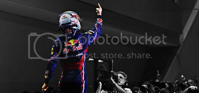 Sebastian Vettel Singapur 2011