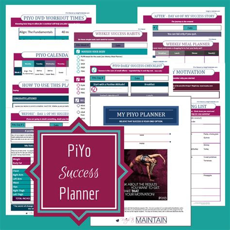 ultimate piyo review  guide piyo workout calendar
