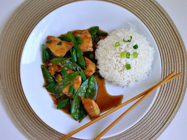 Chicken Stir-Fry Plate