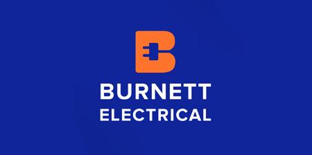 Burnett Electrical Logo
