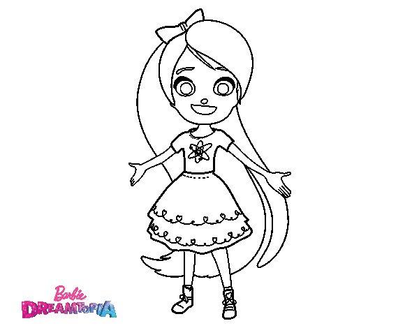 Chelsea Dreamtopia coloring page - Coloringcrew.com