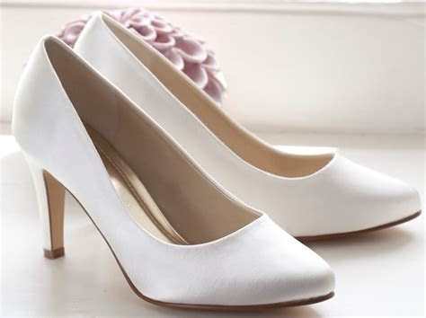 Rainbow Club Kaitlyn Ivory Dyeable Wedding Shoes   Wedding