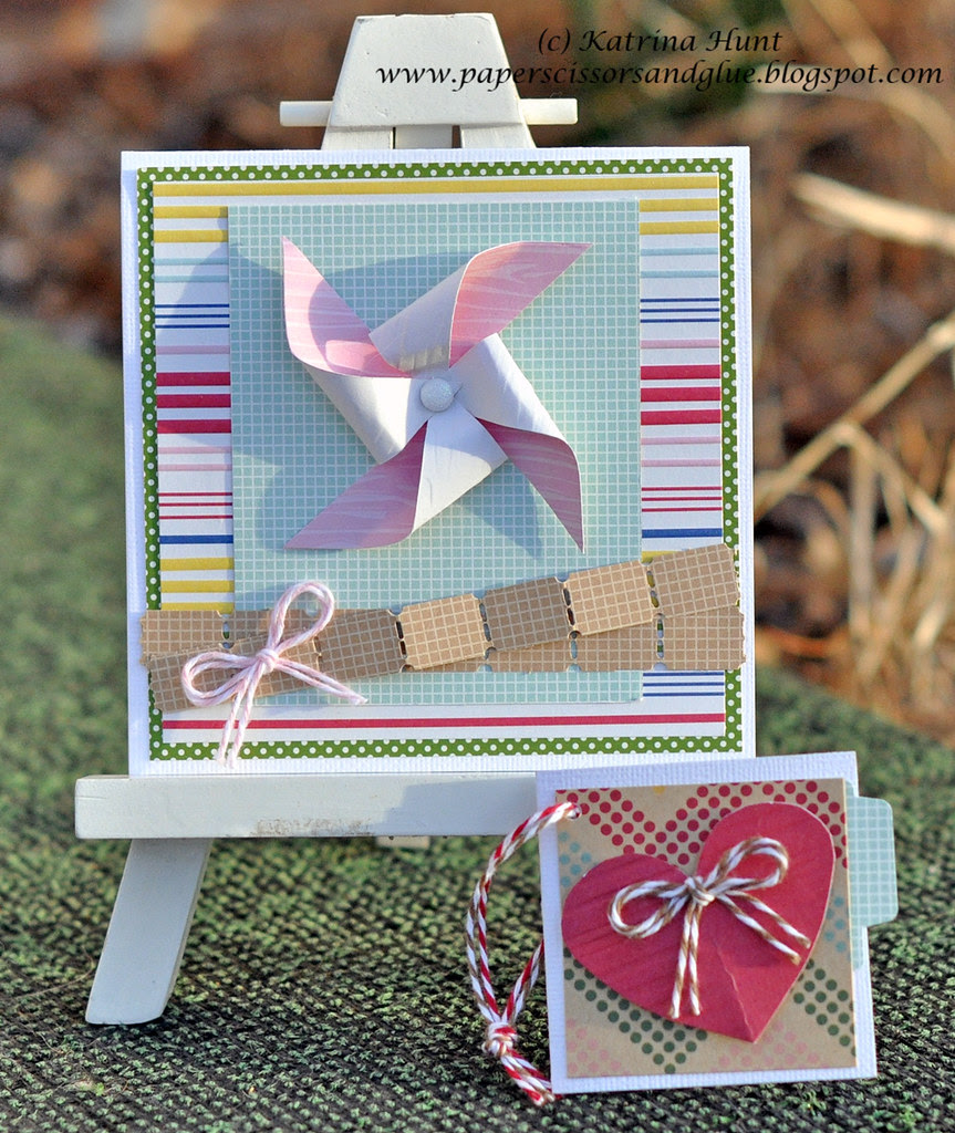 March Card and Tag Class at Scrapbook Generation