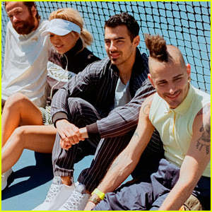 Joe Jonas & DNCE Go Retro For 'K-Swiss' Campaign!