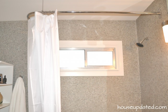 L Rod In The Shower House Updated