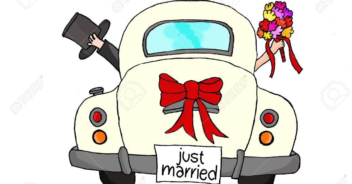 just married auto vorlage zum ausdrucken  free printable