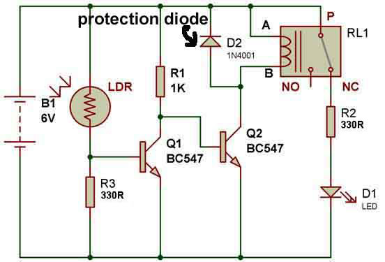 How To Use A Relay Buildcircuit Com