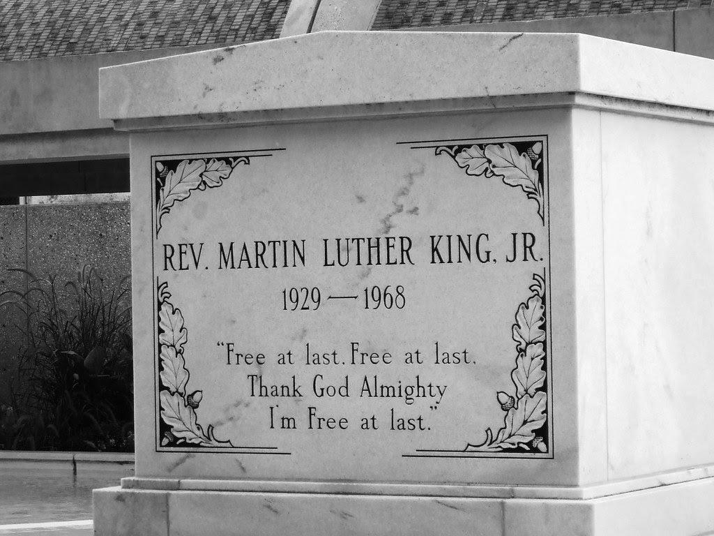 MLK's Tombstone