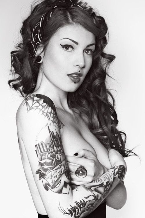 Awesome #Girl & #Tattoos