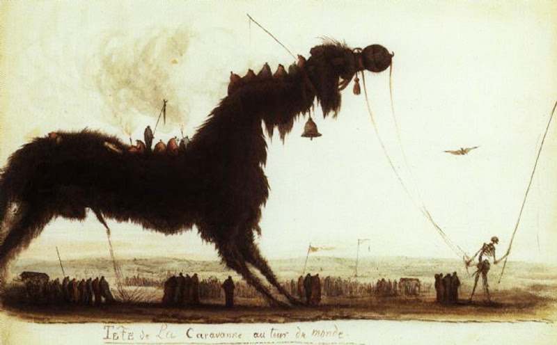 Charles Frederic Soehnee - Tête de La Caravanne au tour du monde