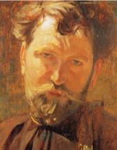 Alphonse Mucha Retrato