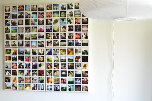 my instagram wall DIY