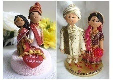 Cutesy Indian Wedding Cake Designs to Add a ?Desi? Touch