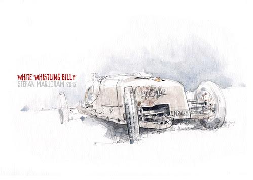 White Steamer - 'Whistling Billy' by Stefan Marjoram