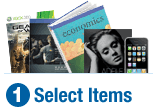 Trade-in your books, movies, or video games at Amazon.com
