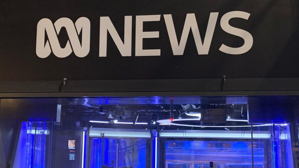 ABC news studio in Sydney
