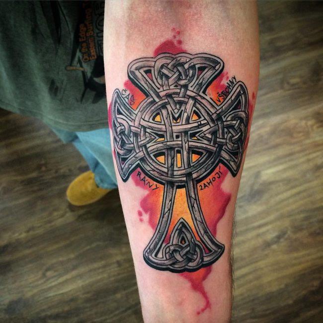 70 Traditional Celtic Cross Tattoo Designs Visual Representation