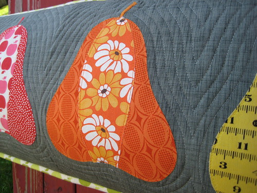 Orchard Pillow by Poppyprint