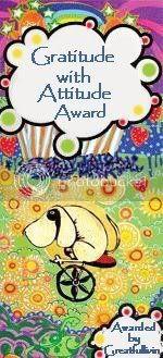 Gratitude Award from MaryT
