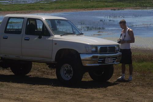 Hugh at Fogg Dam